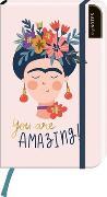 Cover-Bild zu myNOTES Notizbuch A6: You are amazing - notebook large, dotted - für Träume, Pläne und Ideen / ideal als Bullet Journal oder Tagebuch