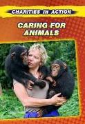 Cover-Bild zu Caring for Animals von Gogerly, Liz