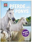 Cover-Bild zu WAS IST WAS Pferde und Ponys von Behling, Silke