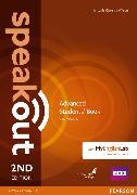 Cover-Bild zu Speakout 2nd Edition Advanced Coursebook with DVD Rom & MyEnglishLab von Clare, Antonia