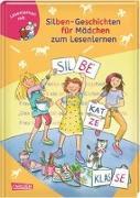 Cover-Bild zu LESEMAUS zum Lesenlernen Sammelbände: Silben-Geschichten für Mädchen zum Lesenlernen von Herfurtner, Rudolf