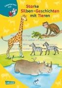 Cover-Bild zu LESEMAUS zum Lesenlernen Sammelbände: Starke Silben-Geschichten mit Tieren zum Lesenlernen von Boehme, Julia