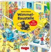 Cover-Bild zu Meine kleine Wimmel-Baustelle von Wiechmann, Heike (Illustr.)