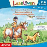 Cover-Bild zu Ponygeschichten & Freundinnengeschichten von Wiechmann, Heike