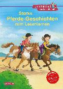 Cover-Bild zu LESEMAUS zum Lesenlernen Sammelbände: Starke Pferde-Geschichten zum Lesenlernen von Wiese, Petra