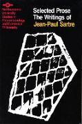 Cover-Bild zu Selected Prose von Sartre, Jean-Paul