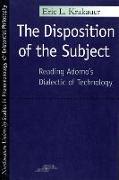 Cover-Bild zu The Disposition of the Subject von Krakauer, Eric