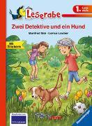 Cover-Bild zu Mai, Manfred: Zwei Detektive und ein Hund - Leserabe 1. Klasse - Erstlesebuch für Kinder ab 6 Jahren
