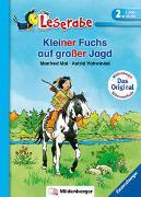 Cover-Bild zu Mai, Manfred: Kleiner Fuchs auf großer Jagd - Leserabe 2. Klasse - Erstlesebuch für Kinder ab 7 Jahren