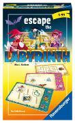 Cover-Bild zu Haferkamp, Kai: Ravensburger 20543 - Escape the Labyrinth, Mitbringspiel für 1-4 Spieler, ab 6 Jahren, kompaktes Format, Reisespiel