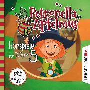 Cover-Bild zu Neudert, Cornelia: Petronella Apfelmus, Teil 5: Was ist nur mit Dornwald los?, Blick in die Zukunft, Hilda in der Falle (Audio Download)
