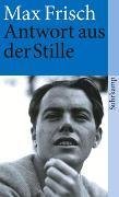Cover-Bild zu Frisch, Max: Antwort aus der Stille