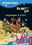 Cover-Bild zu Blanck, Ulf: Die drei ??? Kids, Bücherhelden 2. Klasse, Ungeheuer in Sicht! (drei Fragezeichen Kids) (eBook)