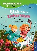 Cover-Bild zu Scheller, Anne: Ella und das Einhörnchen, Bücherhelden 1. Klasse, Magische Freundschaft (eBook)