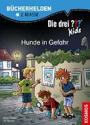 Cover-Bild zu Blanck, Ulf: Die drei ??? Kids, Bücherhelden 2. Klasse, Hunde in Gefahr