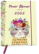 Cover-Bild zu Pattloch Verlag: Flower Meower 2022 - Buchkalender