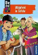 Cover-Bild zu Sol, Mira: Die drei !!!, 55, Wildpferd in Gefahr