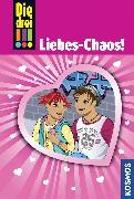 Cover-Bild zu Vogel, Maja von: Die drei !!!, 60, Liebes-Chaos! (drei Ausrufezeichen) (eBook)