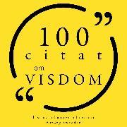 Cover-Bild zu Austen, Jane: 100 citat om visdom (Audio Download)