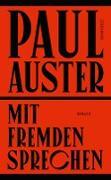 Cover-Bild zu Auster, Paul: Mit Fremden sprechen (eBook)