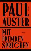 Cover-Bild zu Auster, Paul: Mit Fremden sprechen