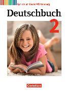 Cover-Bild zu Deutschbuch Gymnasium 2. 6. Schuljahr. Bildungsplan 2016. Schülerbuch. BW von Beck, Markus