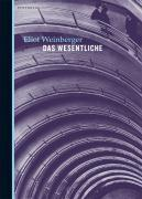 Cover-Bild zu Weinberger, Eliot: Das Wesentliche