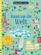 Cover-Bild zu Tudhope, Simon: Usborne Minis - Rätselbuch: Rund um die Welt