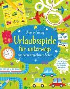 Cover-Bild zu Tudhope, Simon: Urlaubsspiele für unterwegs