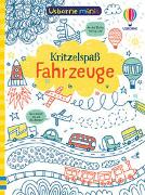 Cover-Bild zu Tudhope, Simon: Usborne Minis: Kritzelspaß Fahrzeuge