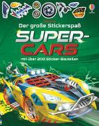 Cover-Bild zu Tudhope, Simon: Der große Stickerspaß: Supercars