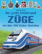 Cover-Bild zu Tudhope, Simon: Der große Stickerspaß: Züge