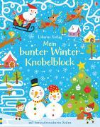 Cover-Bild zu Tudhope, Simon: Mein bunter Winter-Knobelblock