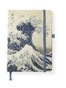 Cover-Bild zu Hokusai, Katsushika: Hokusai 16x22 cm - Blankbook - 192 blanko Seiten - Hardcover - gebunden