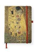 Cover-Bild zu Klimt, Gustav: Klimt 16x22 cm - Blankbook - 192 blanko Seiten - Hardcover - gebunden