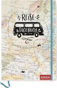 Cover-Bild zu Groh Verlag: Reisetagebuch (Landkarte)