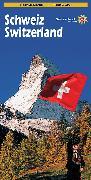Cover-Bild zu Touristenkarte Schweiz/Switzerland. 1:300'003