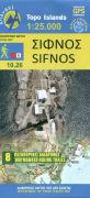 Cover-Bild zu Sifnos. 1:25'000