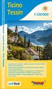 Cover-Bild zu Ticino / Tessin Urlaubskarte. 1:120'000