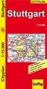 Cover-Bild zu Stuttgart. Cityplan.. 1:15'000