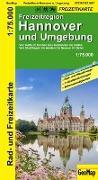 Cover-Bild zu Freizeitregion Hannover und Umgebung.. 1:75'000
