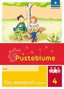 Cover-Bild zu Pusteblume. Das Sprachbuch 4. Arbeitsheft inklusiv 4