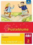 Cover-Bild zu Pusteblume. Das Sprachbuch 2. Arbeitsheft inklusiv. Druckschrift DS