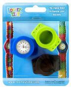 Cover-Bild zu Rainbow Loom Limited Edition. Loomey Time? Armbanduhren-Set. grün-blau-schwarz