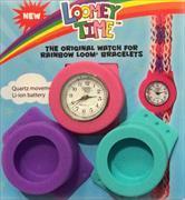 Cover-Bild zu Rainbow Loom Limited Edition. Loomey Time? Armbanduhren-Set. lila-pink-türkis