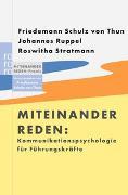 Cover-Bild zu Schulz von Thun, Friedemann: Kommunikationspsychologie für Führungskräfte