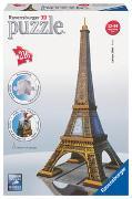 Cover-Bild zu Ravensburger 3D Puzzle 12556 - Eiffelturm - 216 Teile - Das UNESCO Weltkultur Erbe zum selber Puzzeln ab 10 Jahren