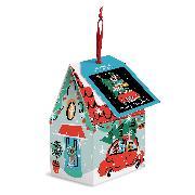 Cover-Bild zu Galison: Christmas Car 130 Piece Puzzle Ornament