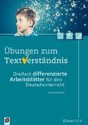 Cover-Bild zu Übungen zum Textverständnis Klasse 5/6 von Seedorf, Karla