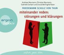 Cover-Bild zu Schulz von Thun, Friedemann: Miteinander reden Teil 1: Störungen und Klärungen